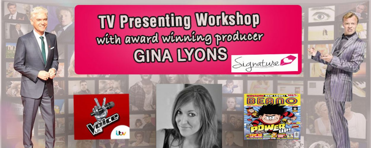 Signature TV Presenting Workshop (9-11yrs)